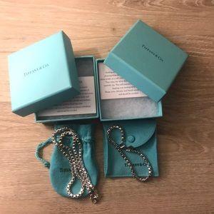 Authentic Tiffany & Co. Venetian Link Set